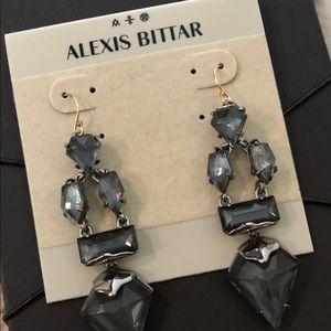 NWT Alexis Bittar Crystal Drop Chandelier Earrings